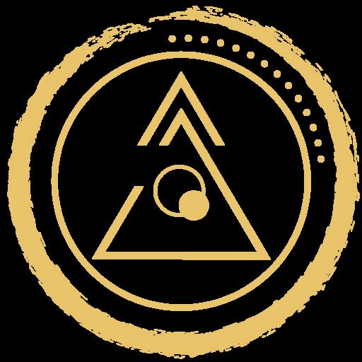 Shoshin Tribe logo gold transparent