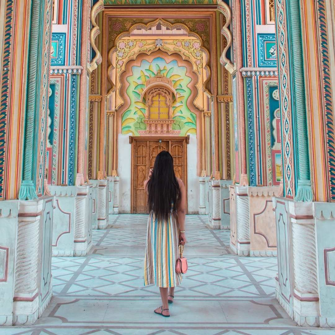Solo female traveller in India